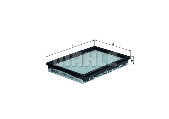 Filtre a air KNECHT LX 1269 (X1)