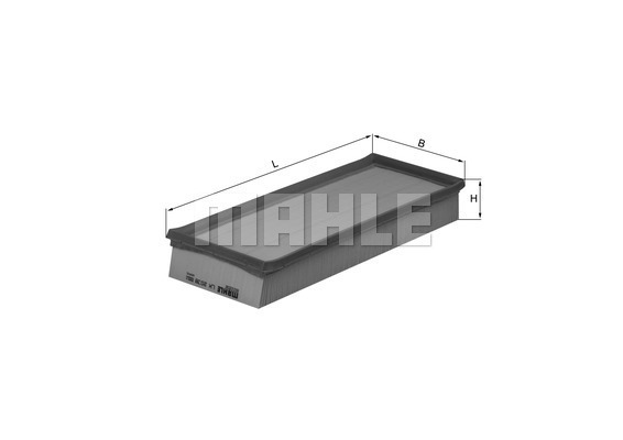 Filtre a air KNECHT LX 2038 (X1)