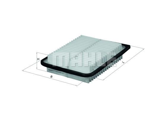 Filtre a air KNECHT LX 2792 (X1)