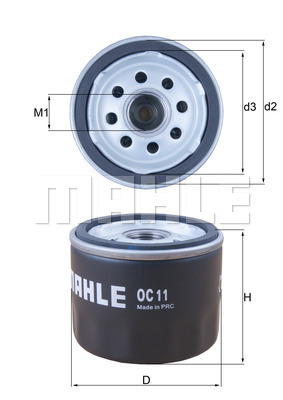 Filtre a huile KNECHT OC 11 (X1)