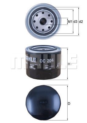 Filtration KNECHT OC 204 (X1)