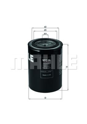 Autres filtres KNECHT WFC 14 (X1)