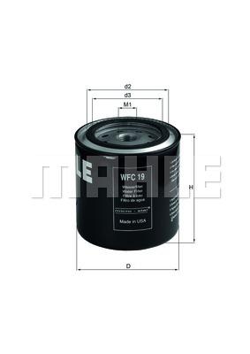 Autres filtres KNECHT WFC 19 (X1)