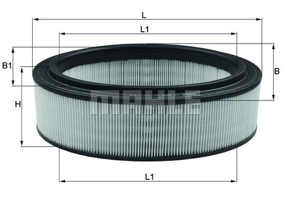 Filtre a air KNECHT LX 2844 (X1)