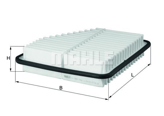 Filtre a air KNECHT LX 2681 (X1)