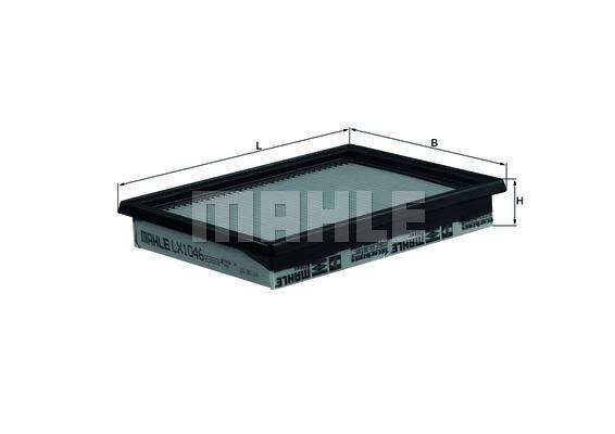 Filtre a air KNECHT LX 1046 (X1)