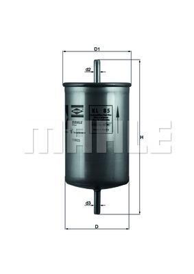 Filtre a carburant KNECHT KL 85 (X1)