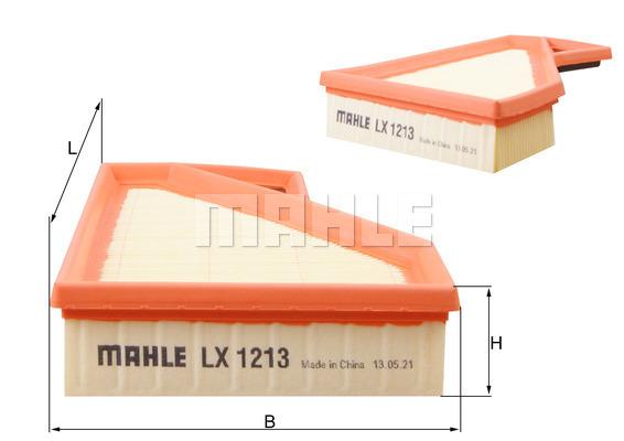 Filtre a air KNECHT LX 1213 (X1)