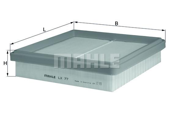 Filtre a air KNECHT LX 77 (X1)
