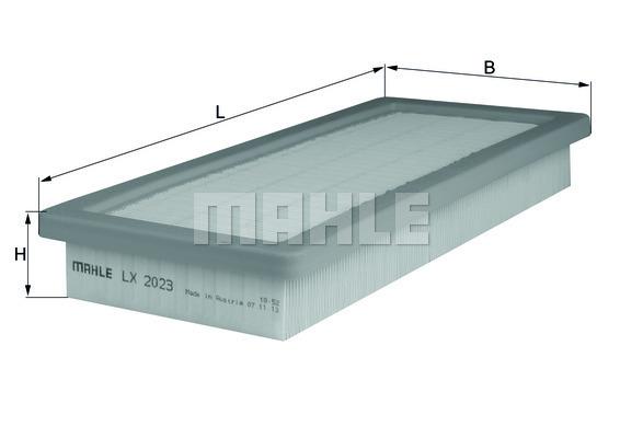 Filtre a air KNECHT LX 2023 (X1)