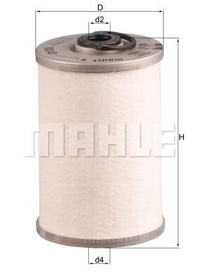 Filtre a carburant KNECHT KX 43 (X1)