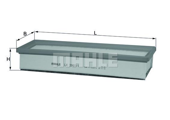 Filtre a air KNECHT LX 2061/1 (X1)