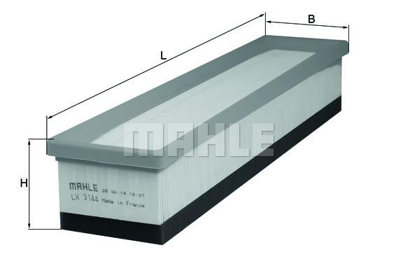 Filtre a air KNECHT LX 3144 (X1)