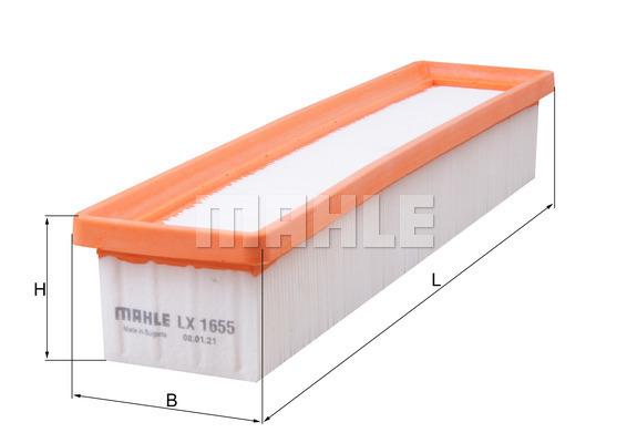 Filtre a air KNECHT LX 1655 (X1)