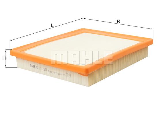 Filtre a air KNECHT LX 2870 (X1)