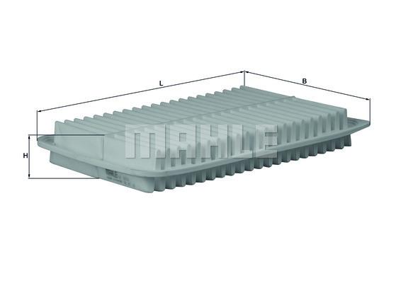 Filtre a air KNECHT LX 1612 (X1)