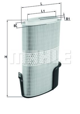Filtre a air KNECHT LX 1009/6 (X1)