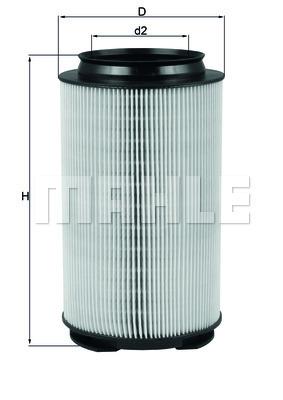 Filtre a air KNECHT LX 1628 (X1)