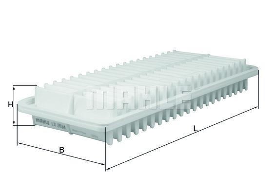 Filtre a air KNECHT LX 2634 (X1)