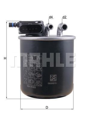 Filtre a carburant KNECHT KL 942 (X1)