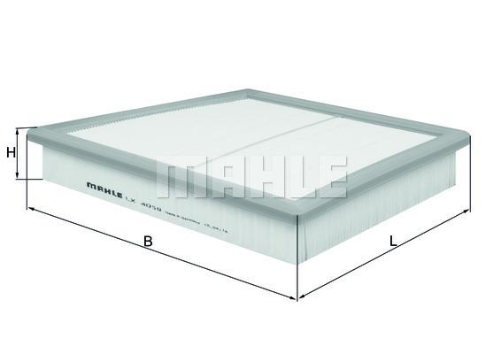Filtre a air KNECHT LX 4059 (X1)