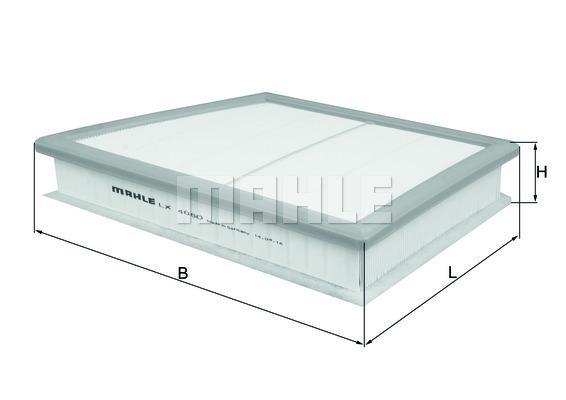 Filtre a air KNECHT LX 4060 (X1)