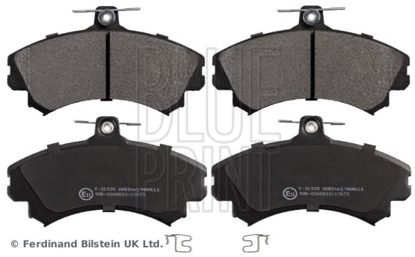 Plaquettes de frein avant BLUE PRINT ADC44251 (X1)