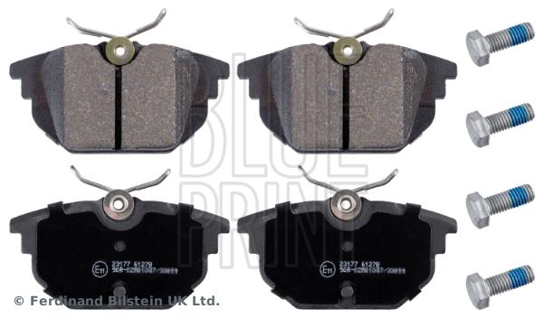 Plaquettes de frein arriere BLUE PRINT ADL144231 (X1)