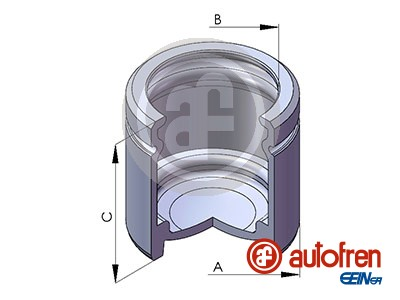 Piston etrier de frein AUTOFREN SEINSA D025107 (X1)