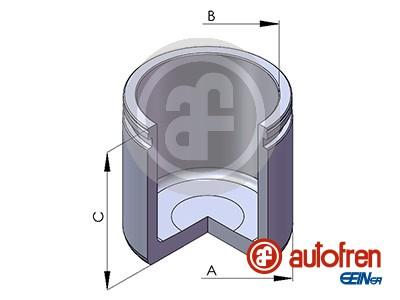 Piston etrier de frein AUTOFREN SEINSA D025111 (X1)