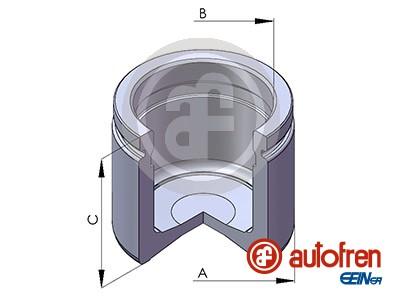Piston etrier de frein AUTOFREN SEINSA D025112 (X1)