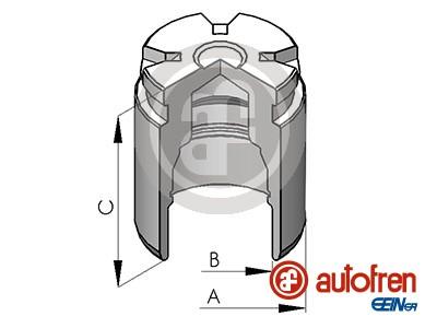 Piston etrier de frein AUTOFREN SEINSA D025120 (X1)