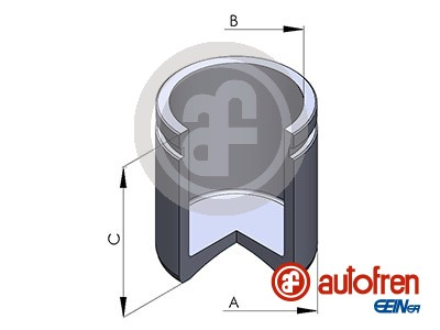 Piston etrier de frein AUTOFREN SEINSA D025129 (X1)