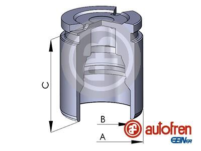 Piston etrier de frein AUTOFREN SEINSA D02519 (X1)