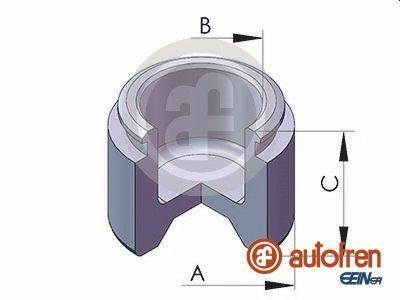 Piston etrier de frein AUTOFREN SEINSA D02522 (X1)