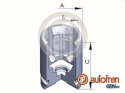 Piston etrier de frein AUTOFREN SEINSA D025233 (X1)