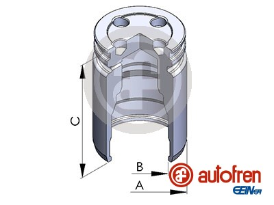 Piston etrier de frein AUTOFREN SEINSA D025241 (X1)