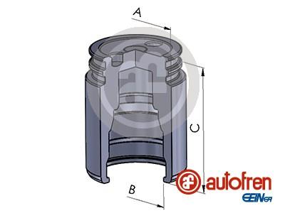 Piston etrier de frein AUTOFREN SEINSA D025251 (X1)