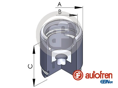 Piston etrier de frein AUTOFREN SEINSA D025258 (X1)
