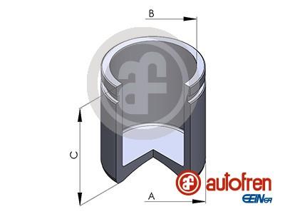 Piston etrier de frein AUTOFREN SEINSA D025266 (X1)