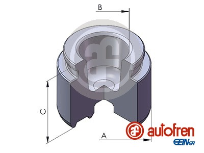 Piston etrier de frein AUTOFREN SEINSA D025271 (X1)