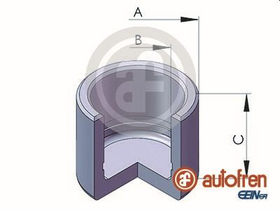 Piston etrier de frein AUTOFREN SEINSA D02528 (X1)