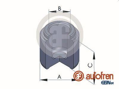Piston etrier de frein AUTOFREN SEINSA D025284 (X1)
