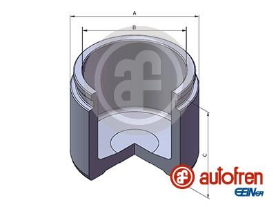 Piston etrier de frein AUTOFREN SEINSA D025308 (X1)