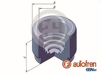 Piston etrier de frein AUTOFREN SEINSA D025320 (X1)
