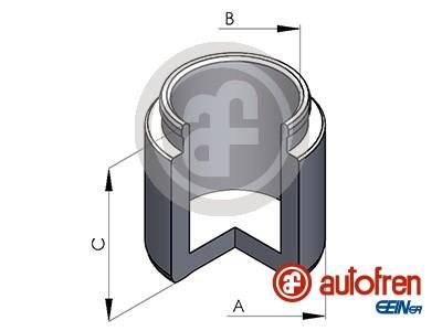Piston etrier de frein AUTOFREN SEINSA D025344 (X1)