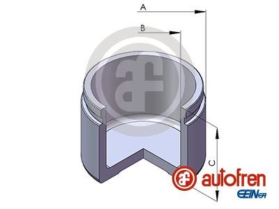 Piston etrier de frein AUTOFREN SEINSA D025354 (X1)