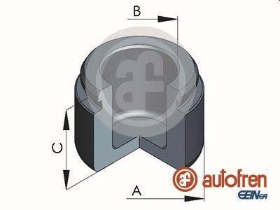 Piston etrier de frein AUTOFREN SEINSA D025369 (X1)