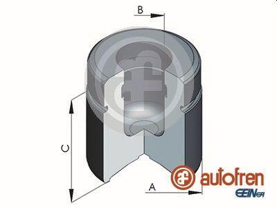 Piston etrier de frein AUTOFREN SEINSA D025386 (X1)