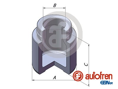 Piston etrier de frein AUTOFREN SEINSA D025392 (X1)